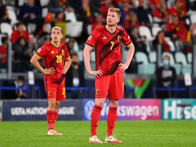 Tristesse in Turijn: Rode Duivels geven 2-0-voorsprong in dramatische tweede helft nog helemaal uit handen en beleven nieuwe nachtmerrie tegen Frankrijk