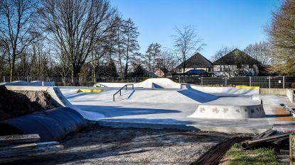 Nog twee weken geduld nodig om te mogen skaten in nieuw park