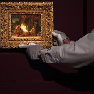 Sotheby's veilt een bijbels tafereeltje van Rembrandt