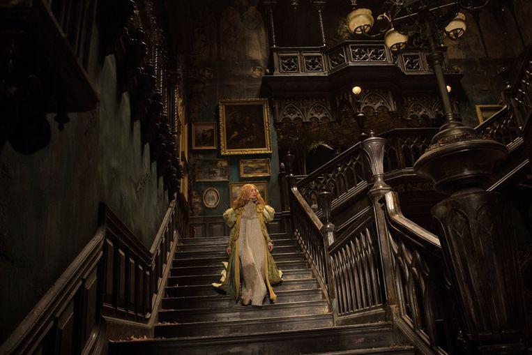 Een Brits landhuis met een gruwelijk verleden vormt het decor. Beeld rv