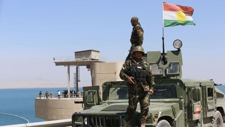 Bij een massaslachting door IS in juni zijn ongeveer 670 gevangenen omgekomen. Beeld reuters