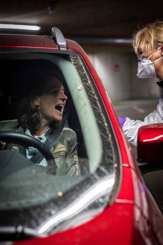 Eerder was in de parkeerkelder onder het Lichtplein een teststraat ingericht.