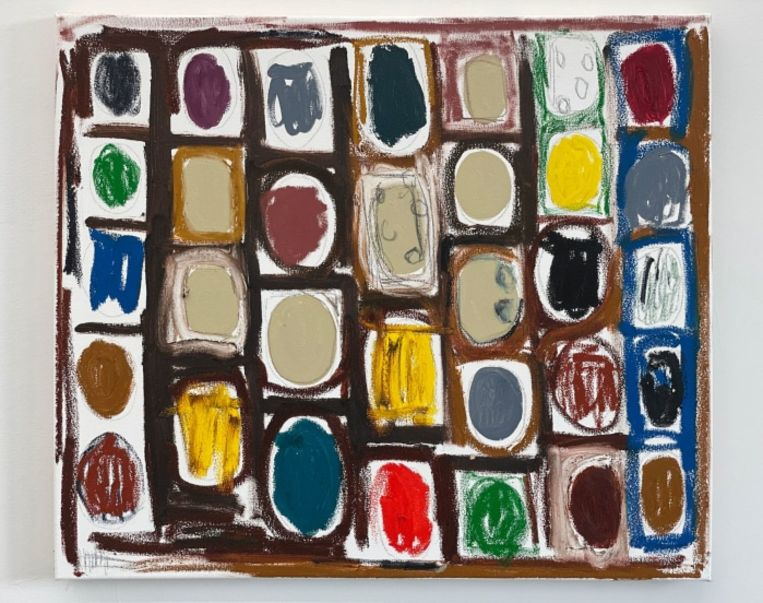 Tuuka Tammisaari, 'Table of Contents' (2021), Kristof De Clercq Gallery.     Beeld gallery viewer