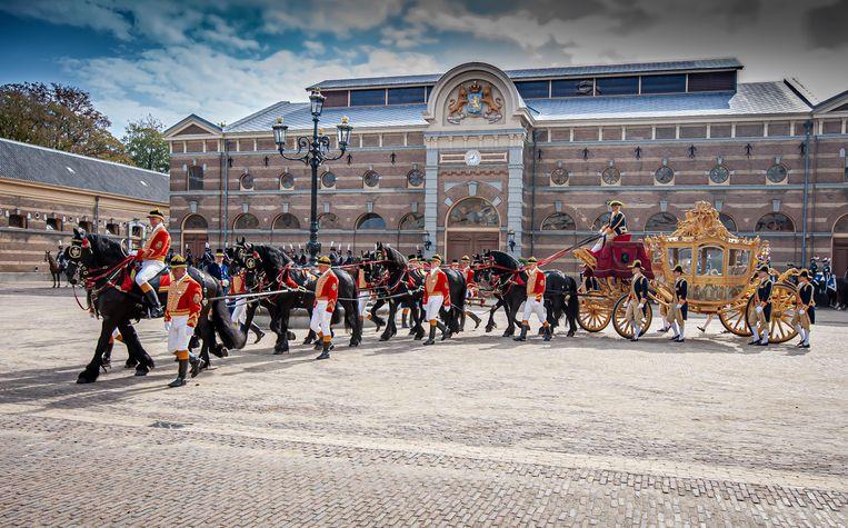 De Gouden Koets, nu te bezichtigen in het Amsterdam Museum. Beeld Arthur van der Vlies