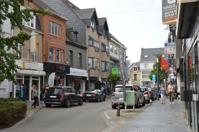 Het stadscentrum van Ninove.