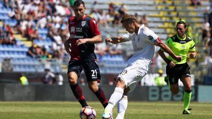 Invaller Senna Miangue sluit met Cagliari seizoen af met zege tegen AC Milan
