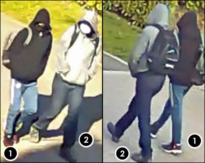 Ces deux individus sont recherchés par la police dans le cadre du meurtre de Vinciane Mathues.