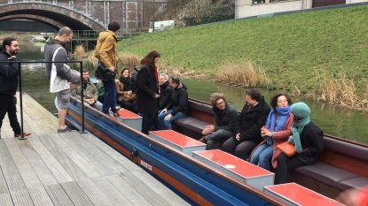 Groen trekt per boot naar de kiezers