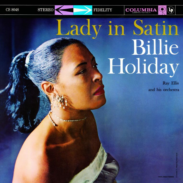 Billie Holiday, Lady in Satin (1958), Columbia Records Beeld rv