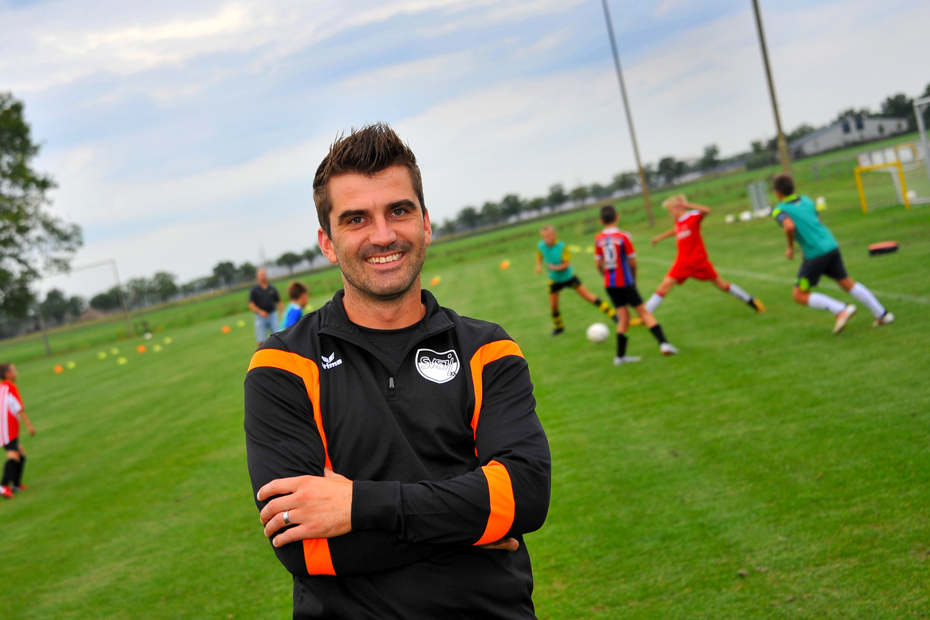 Niels Roijakkers trainer SVSH Someren Heide