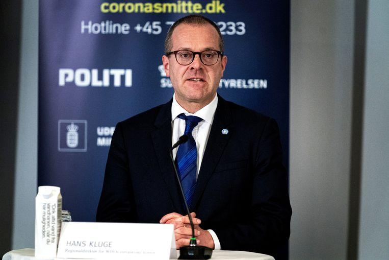 Hans Kluge: 'Het probleem van long covidwordt te weinig belicht. Eén op de drie blijft na de besmetting nog minstens drie maanden sukkelen. Ook jonge mensen. Beeld AFP