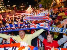 Supporters trots en opgelucht: Willem II gaat Europa in. 'We hebben het verdiend'