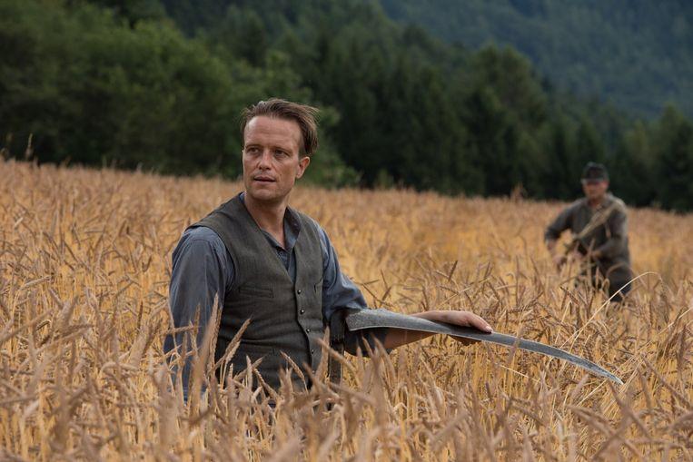 'De meeste dagen gingen we gewoon werken op het veld, alsof we echte boeren waren', aldus Diehl.  Beeld rv