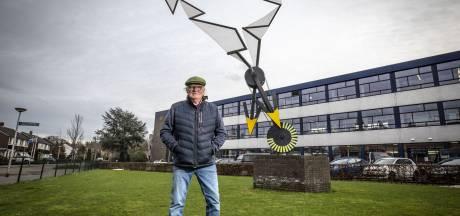 Bewegend kunstwerk 'Potskamp' in Oldenzaal is kunstzinnige ode aan de wind