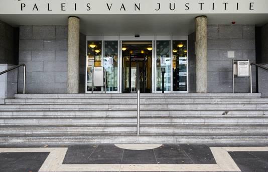 Exterieur van de rechtbank.