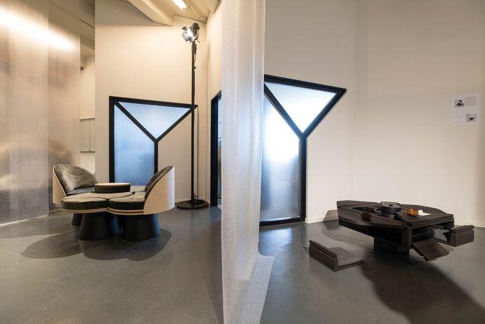 Studenten meubelontwerp exposeren bij BULO