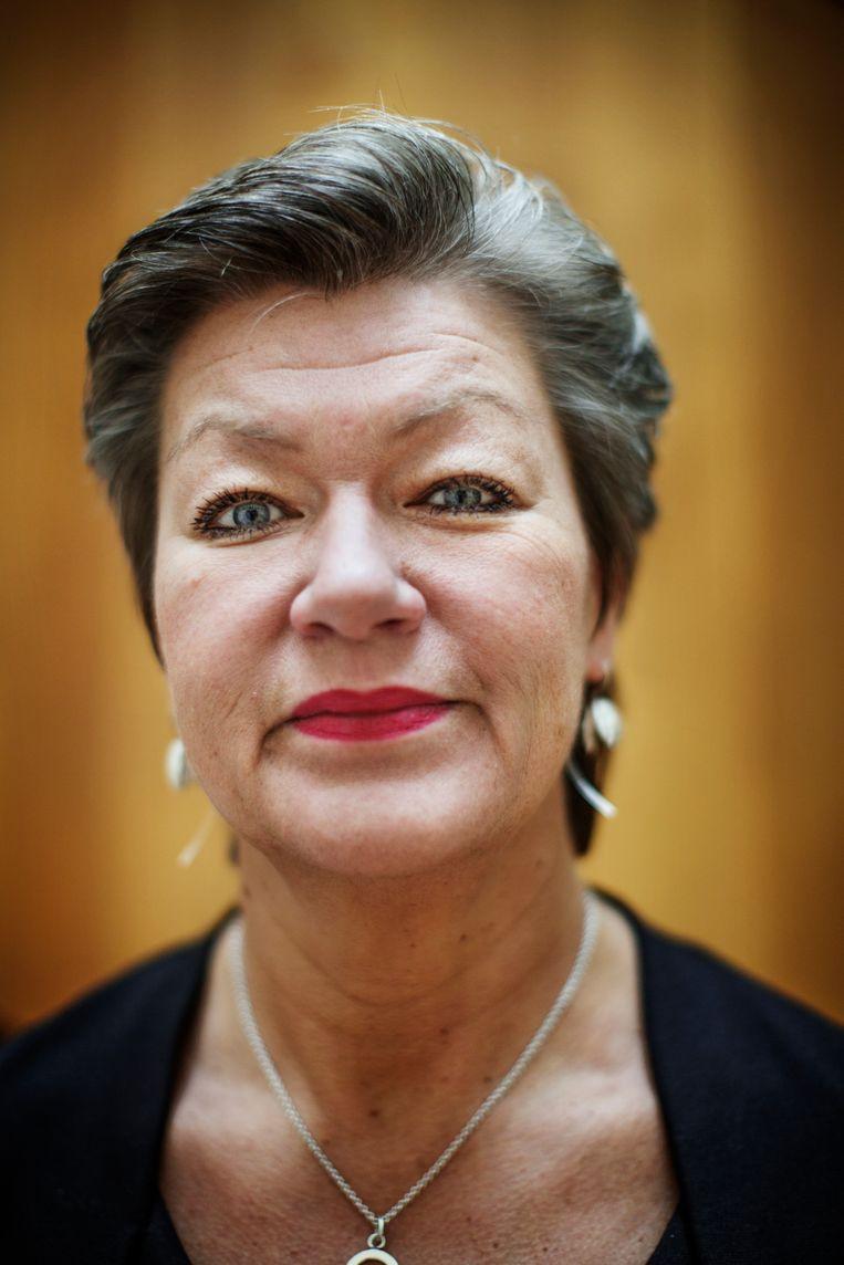 Europees Commissaris Ylva Johansson Beeld Linus Sundahl-Djerf