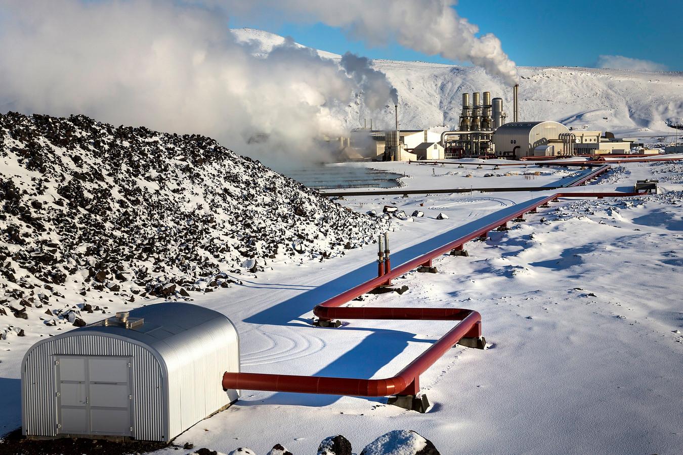 Het datacenter van een mining-bedrijf in Fitjar, waar Bitcoin en Etherium wordt gedolven