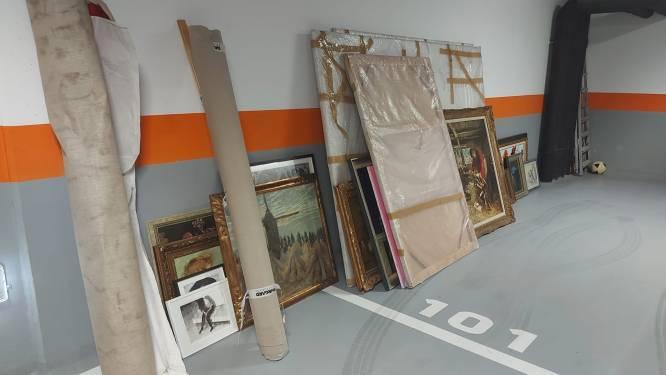 In maart 60 schilderijen gestolen op Linkeroever, nu vindt politie 46 kunstwerken terug in Roemenië