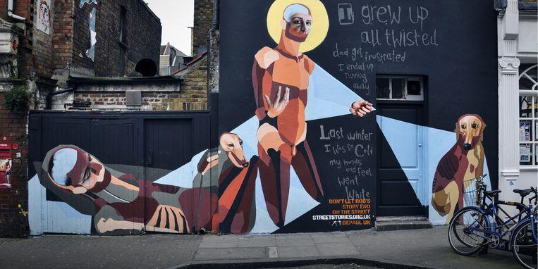 'Street Story' van Best Ever in Londen (Groot-Brittannië). Beeld rv
