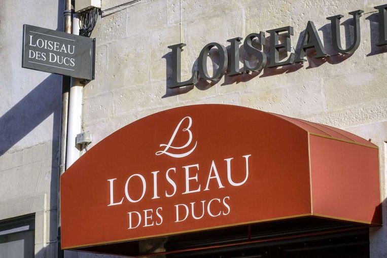 De voorkant van restaurant Loiseau des Ducs in Dijon. Beeld afp