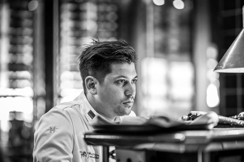 Chef-kok Jermain de Rozario Beeld