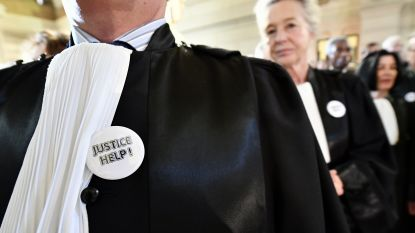 """Gerechtelijke wereld voert op 20 maart actie """"om justitie te redden"""""""