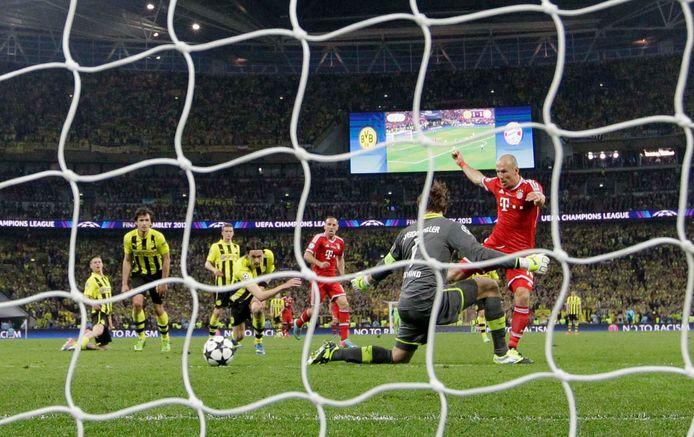 Arjen Robben beslist de Champions League-finale.