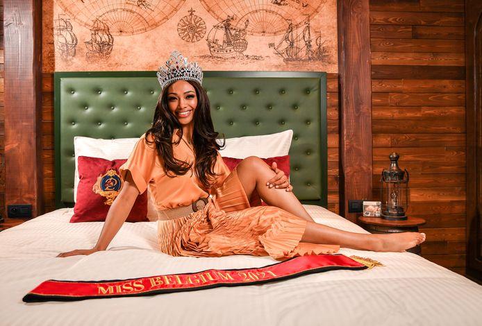 Miss België Kedist Deltour.