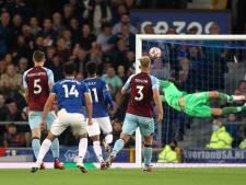 Everton meldt zich bij koplopers na zege op Burnley