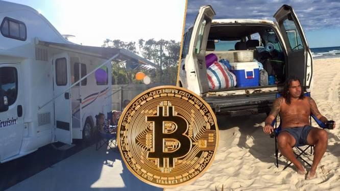 Didi verkocht álles voor bitcoin. In afwachting van prijsexplosie woont hij op camping met gezin