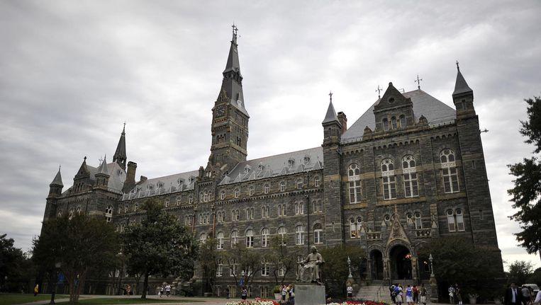 Georgetown University. Beeld afp
