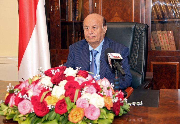 President Abed Rabbo Mansour Hadi Beeld epa
