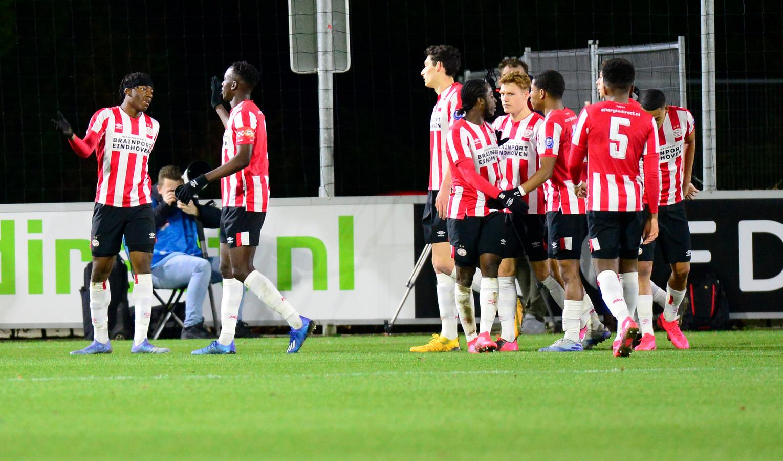 Jong PSV reist vrijdag naar Cambuur.
