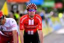 Victime d'une chute sur le Giro en 2019, Tom Dumoulin avait dû faire une croix sur le reste de la saison.