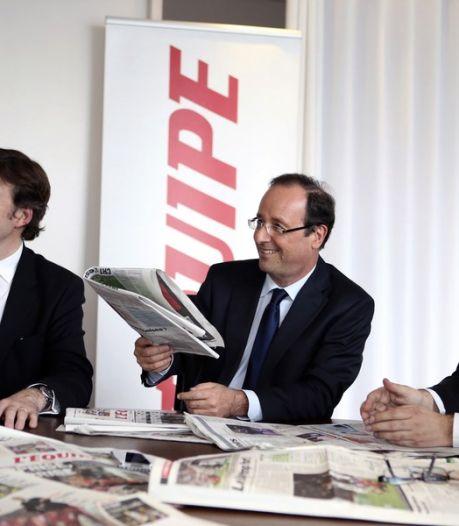 Sarkozy ver achter op Hollande in verkiezingen