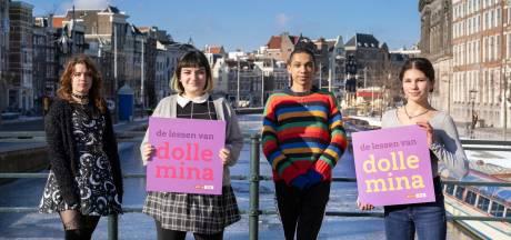 Dolle Mina gaat gesprek met scholieren aan over menstruatiearmoede en plasrecht voor vrouwen
