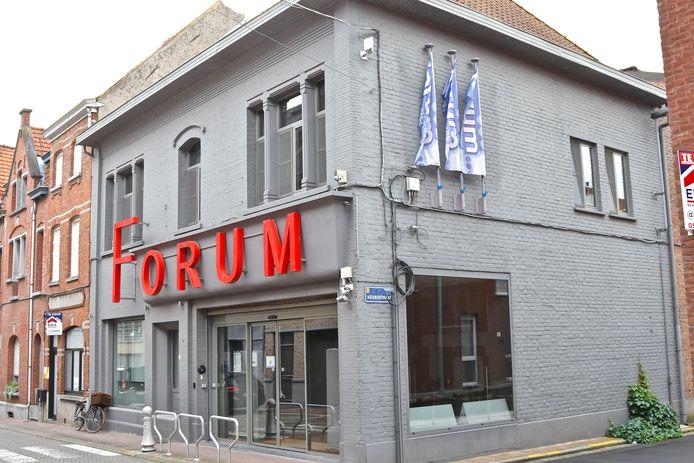 GC Forum in de Speiestraat in Wervik.