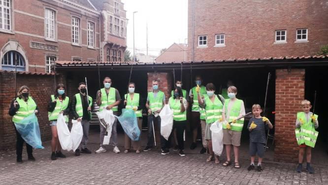 Acht zakken vol afval bijeengeraapt tijdens zwerfvuilactie in Herentals