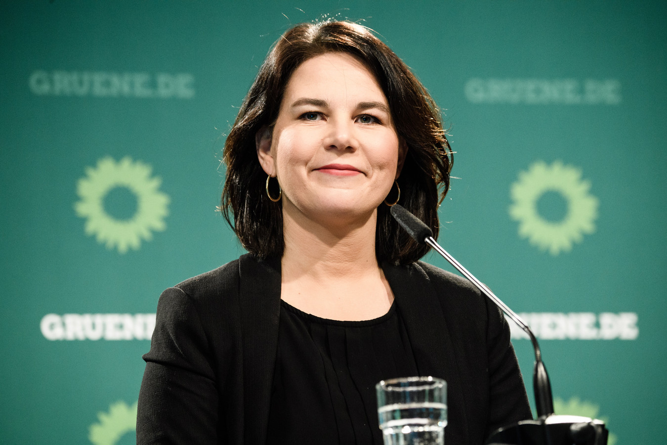 Covoorzitter Annalena Baerbock van Bundnis 90/Die Grünen.
