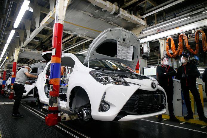 Bij Toyota blijft de productie wel op niveau.