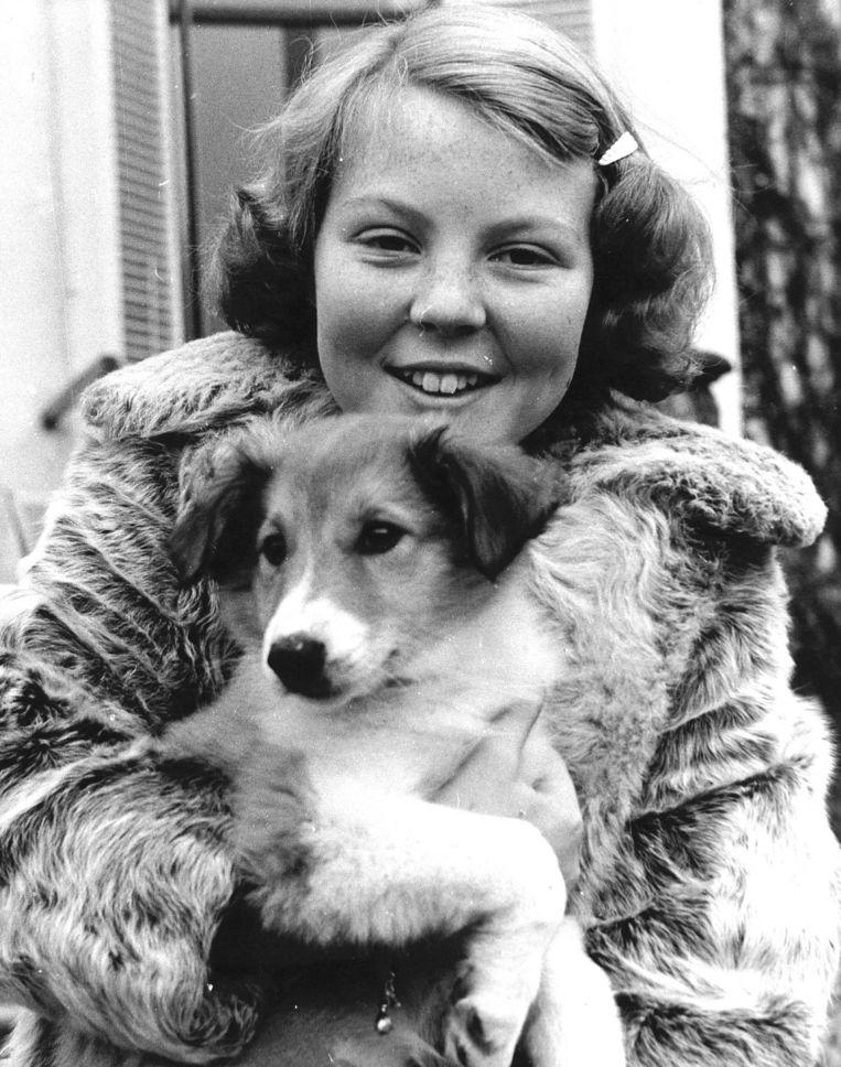 Prinses Beatrix als twaalfjarige. Beeld ANP