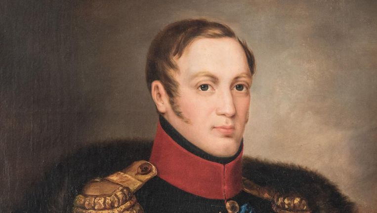 Op het werk van Hauser staat tsaar Nicolaas I Beeld DFfotografie