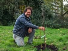 """Lekkeroever op Linkeroever, bouwgrond wordt tijdelijk ingericht als eetbare tuin: """"Meewerken met de natuur is gemakkelijker dan tegenwerken"""""""
