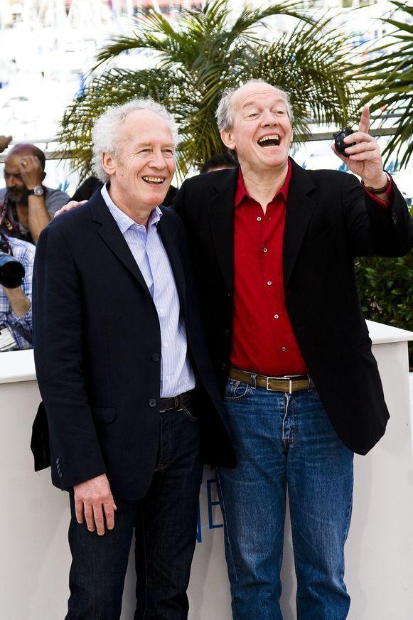 De broers Dardenne eerder deze week in Cannes.