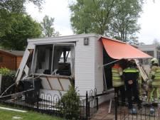 Zwaargewonde bij explosie in chalet Renswoude