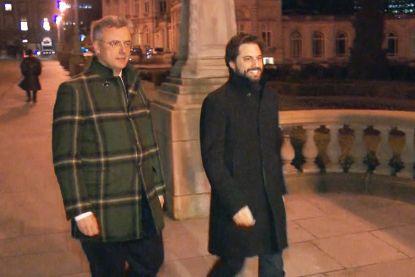 """Koning stuurt voorzitters Coens (CD&V) en Bouchez (MR) veld in als informateurs: """"Paars-groen hopelijk van de baan"""""""