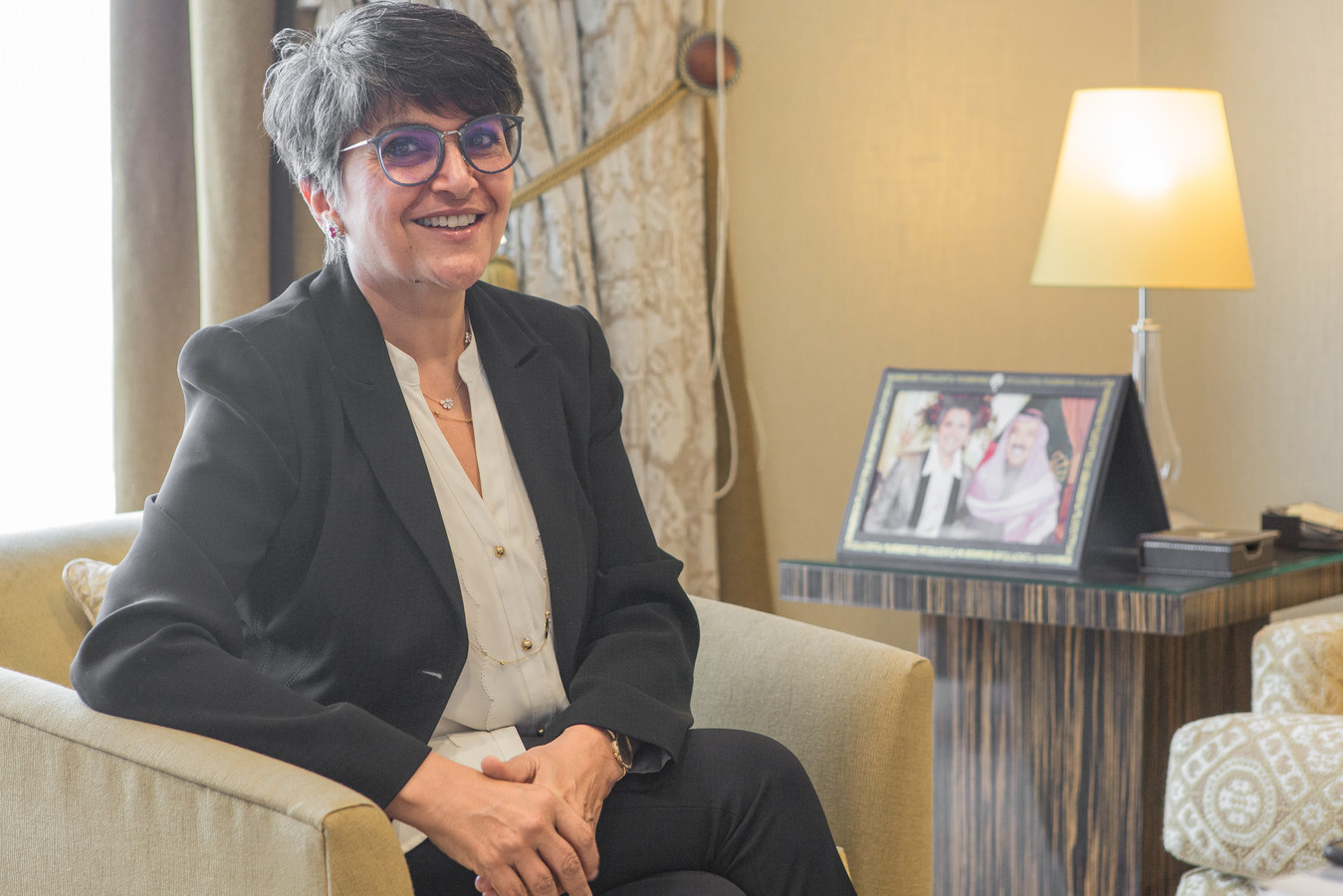 Safa al-Hashem verloor haar zetel bij de verkiezingen.