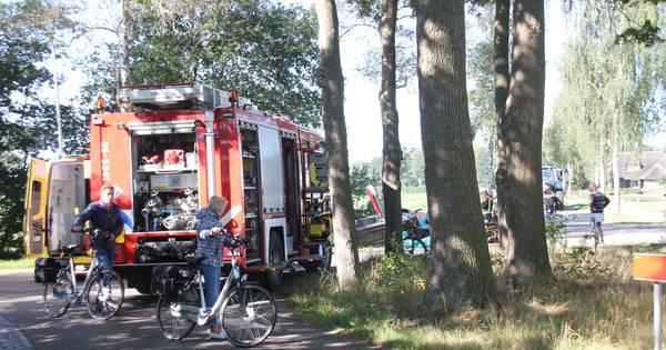 Man overleden bij zwaar verkeersongeval in Hellendoorn.