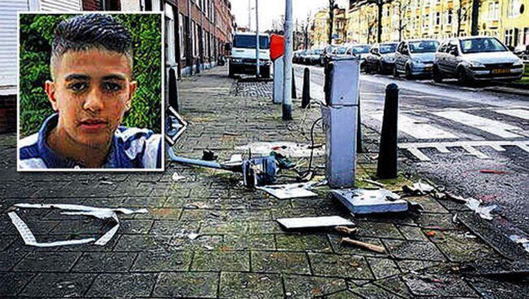 De 14-jarige Hamza uit Rotterdam, slachtoffer van een vuurwerkbom Beeld Eigen foto